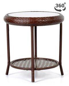 zdjęcie ogrodowego stołu